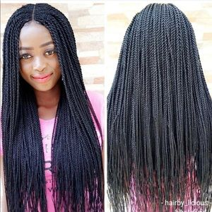 Lace braided wigs